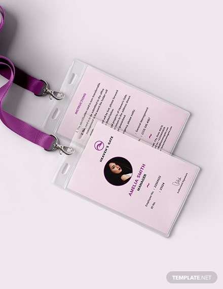 Massage ID Card Download