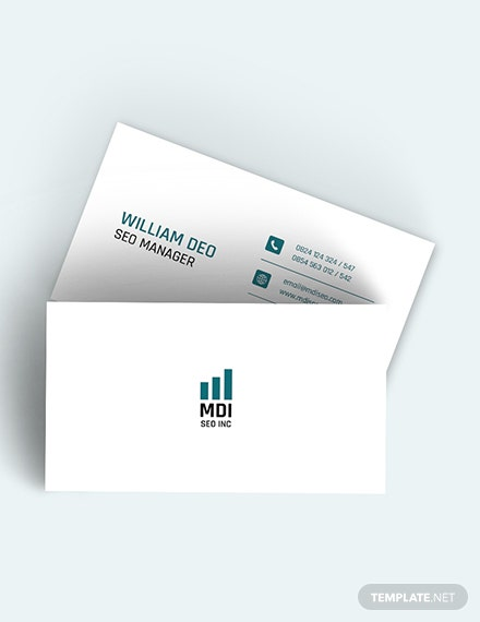 SEO Business Card Download