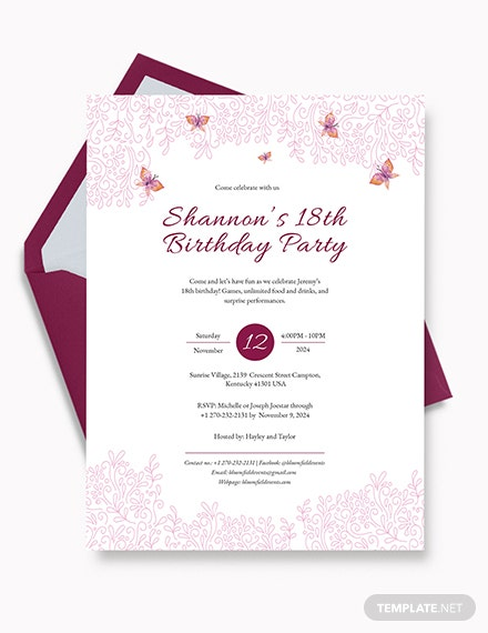 63 free birthday invitation templates download ready made .
