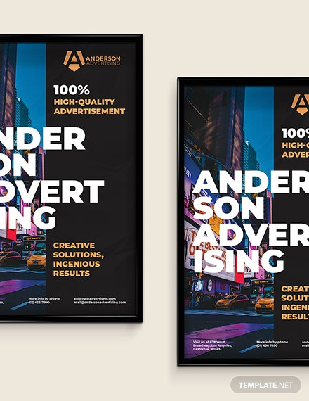 Advertising agency Poster Download