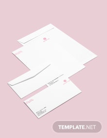 Spa Envelop Template