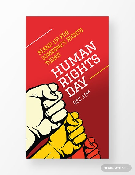 Free International Human Rights Day Whatsapp