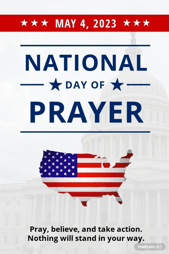 National Day of Prayer Tumblr Post Template