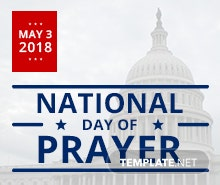 Free National Day of Prayer Tumblr Post Template
