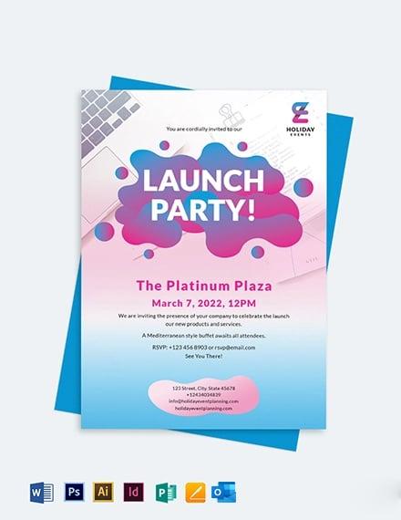 Event Planner Invitation Template
