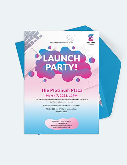 Sample Event Planner Invitation