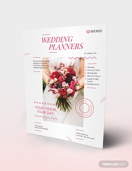 Wedding Planners Flyer Download