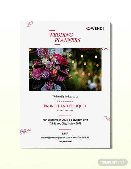 Wedding Planners Invitation Download