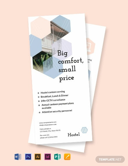 Hostel DL Card Template