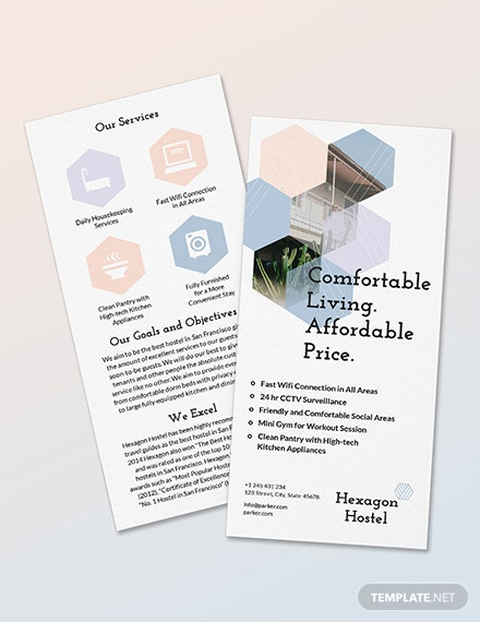 Sample Hostel DL Card