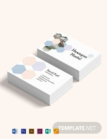 Hostel Business Card Template