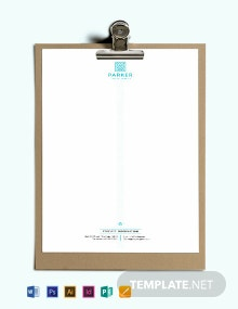 Travel Agency Letterhead Template