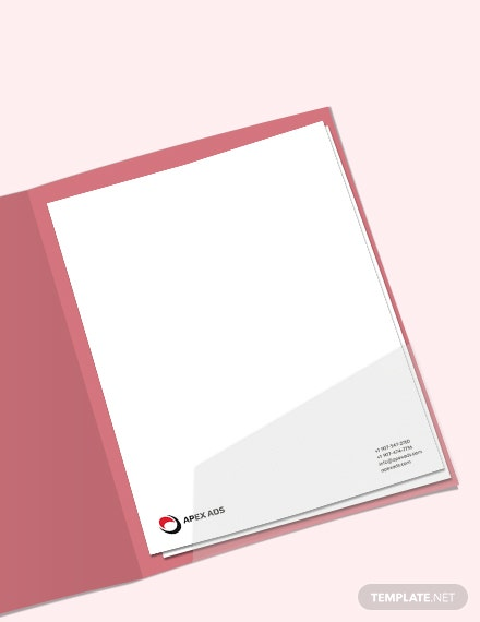 Download Advertising Consultant Letterhead Template