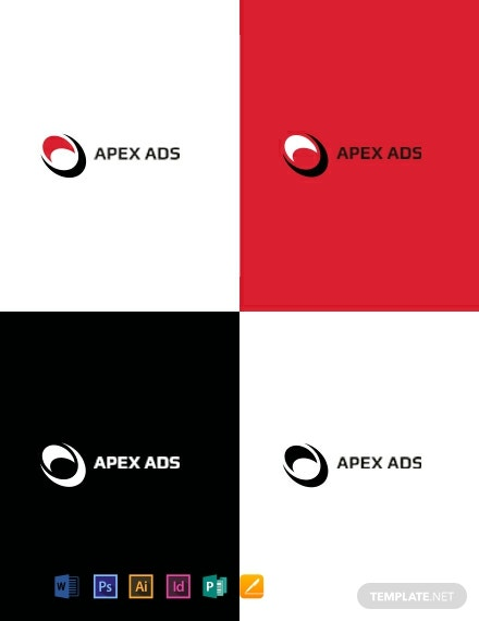 Advertising Consultant logo-Design Template
