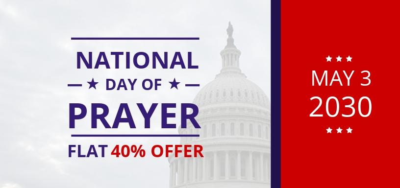 National Day of Prayer Voucher Template