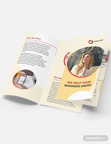 Advertising Consultant TriFold Brochure Download