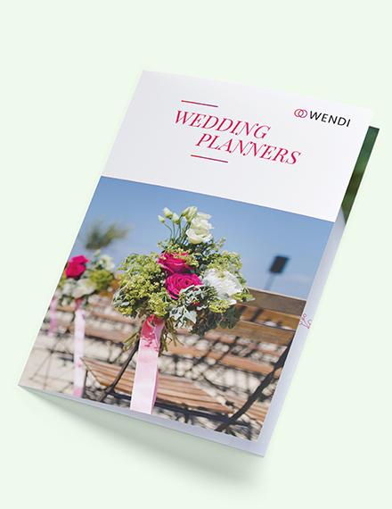 Wedding Planners BiFold Brochure Download