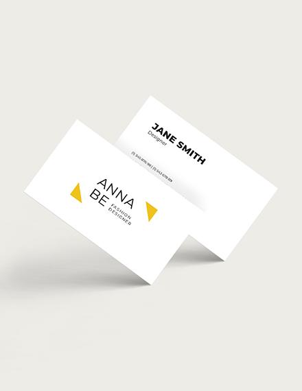 Fashion Designer Business Card Download