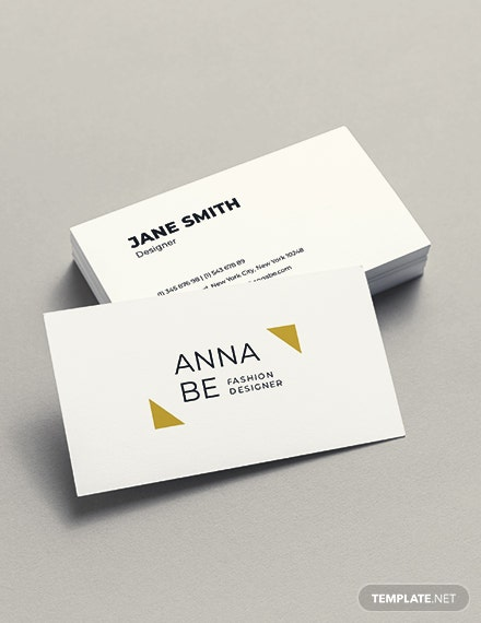 Fashion Designer Business Card Template Download 154 Business