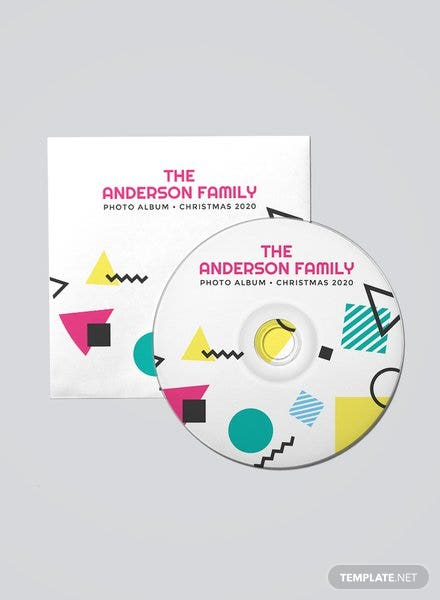 Free CD DVD Label Template