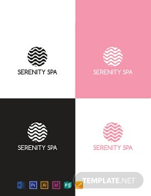 Spa Logo Design Template