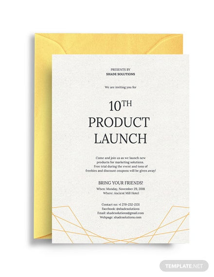 27 free invitation business templates download ready made