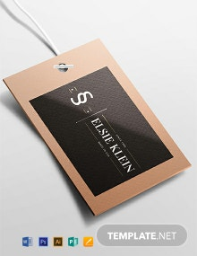 Free Clothing Label Template