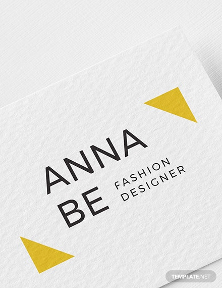 Sample Fashion Designer Logo
