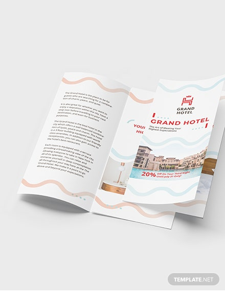 Grand Hotel TriFold Brochure Download