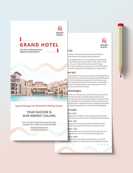 Grand Hotel DL Card Download