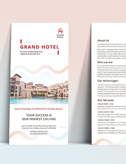 Sample Grand Hotel DL Card
