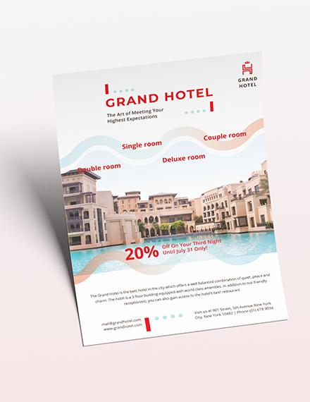Grand Hotel Flyer Download