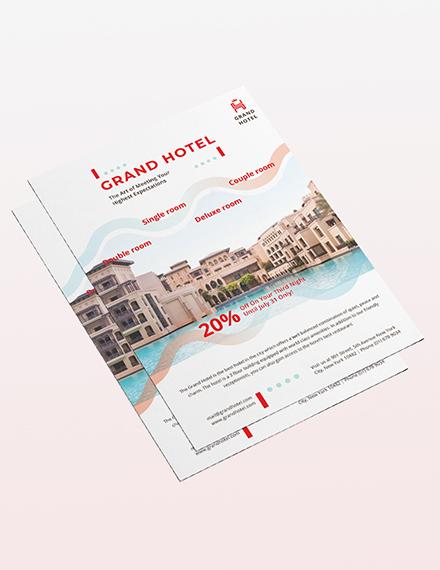Grand Hotel Flyer Sample