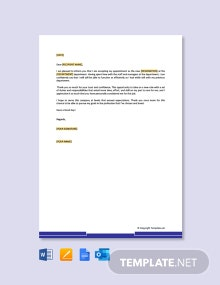 Free Thank You Letter to Boss For Transfer