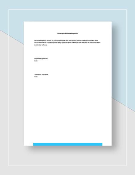 Disciplinary Report Form Download