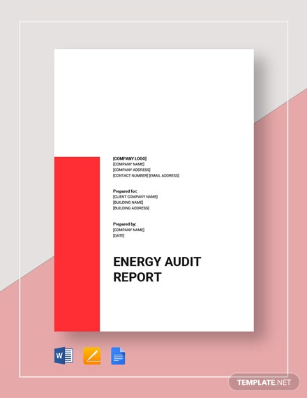 energy audit report 2