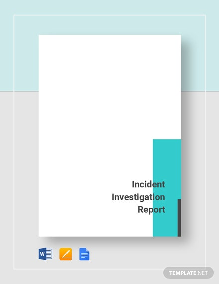incident investigation report 2