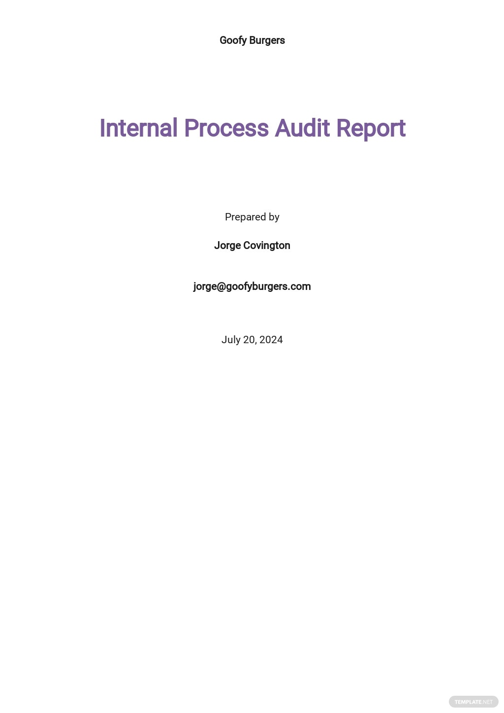 Internal Process Audit Report Template.jpe
