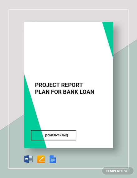 project report for bank loan 3