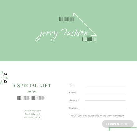 Free Company Gift Certificate Template Free Templates - Store gift certificate template