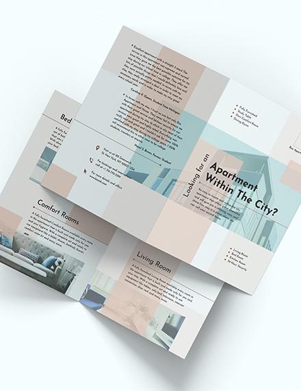 Apartment BiFold Brochure Download