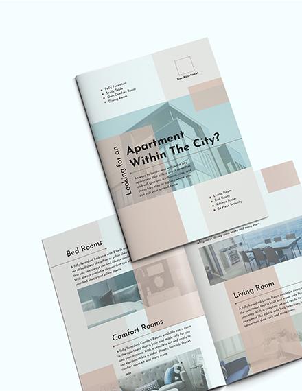 Sample Apartment BiFold Brochure