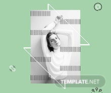 Free Fashion Store Poster Template