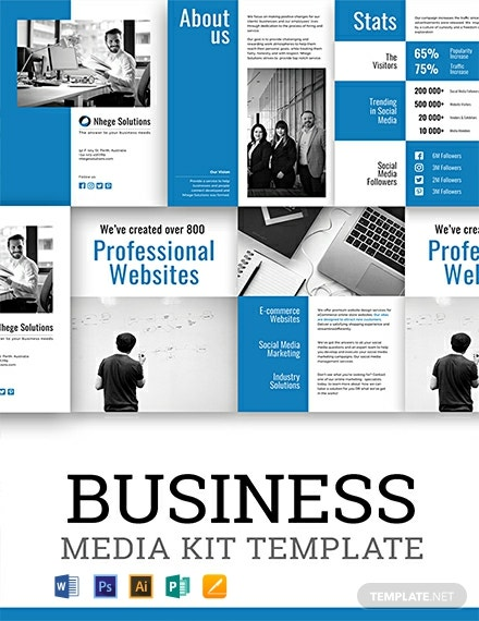 Free Business Media Kit Template