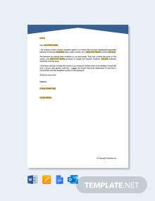 Free Formal Complaint Letter Against a Person