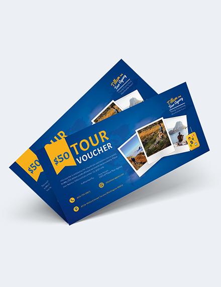 Sample Tour Voucher