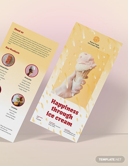 Sample Ice Cream DL Card