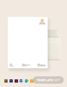 Ice Cream Envelope Template