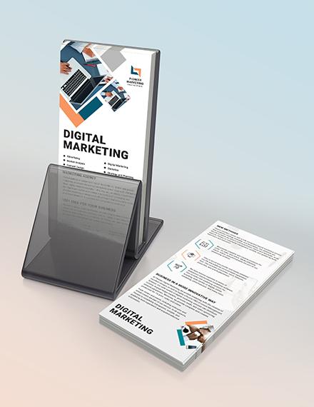 Marketing Agency DL Card Download