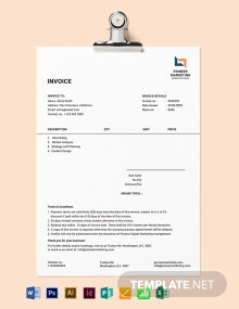 Marketing Agency Invoice Template